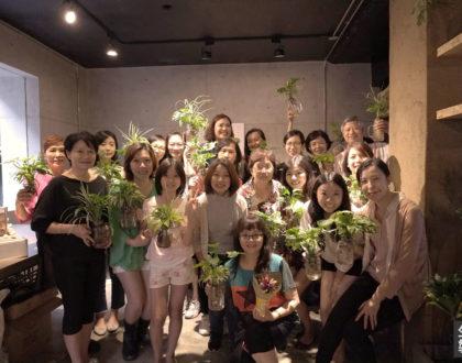 秋美老師蒞臨指導 - 花藝體驗會